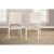 5-Piece Set w/ Chairs Sea White & Fog Fabric Product View 4