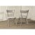 """Hillsdale Furniture Mayson Dining Chair - Set of 2  in Gray Finish, 17-1/4"""" W x 20-1/2"""" D x 31-1/4"""" H"""