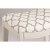 White & Trellis Ash Fabric Seating View