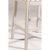 White & Trellis Ash Fabric Frame View
