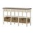 Sofa Table w/ (3) Drawers & (3) Baskets: Product View 3