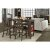 5-Piece Set w/ X-Back Stools Product View