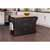 Black Finish Wood, Natural Finish Wood Top Situational View