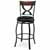 """Hillsdale Furniture Stockport Swivel Counter Height Stool, Pewter, 19-1/8""""W x 17""""D x 40-1/2""""H"""
