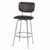Bar Stool, Chrome, Angular View