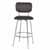 Bar Stool, Chrome, Front View