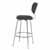 Bar Stool, Chrome, Side View