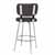Bar Stool, Chrome, Back View