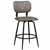 Bar Stool, Black, Angular View