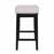 """Hillsdale Furniture Maydena Counter Height Stool, Black, 16-1/2""""W x 18-1/4""""D x 31-1/4""""H"""