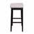 "Hillsdale Furniture Maydena Bar Height Stool, Black, 16-1/2""W x 18-3/4""D x 35-1/4""H"