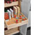 Rev-A-Shelf Base Cabinet Pullout Pilaster Stackable Drawers