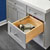 Rev-A-Shelf Half Tiered Double Vanity Drawer