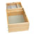 "Rev-A-Shelf Half Tiered Double Vanity Drawer for 18"" Face Frame Cabinet, with BLUMOTION Soft-Close Slides, 15""W x 18-11/16""D x 8""H"