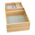 "Rev-A-Shelf Half Tiered Double Vanity Drawer for 18"" Frameless Cabinet, with BLUMOTION Soft-Close Slides, 16-1/2""W x 18-11/16""D x 8""H"