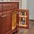 Rev-A-Shelf Vanity Door Mounted Organizational Storage Rack