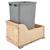 Rev-A-Shelf Single Bin Waste Container