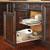 Rev-A-Shelf Soft-Close Pullout Basket for Kitchen Base Cabinet