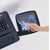 """Safco Ergo-Comfort® Premium Underdesk Keyboard Drawer, Black, 23-1/4""""W x 20-1/4""""D x 5-1/4""""H"""