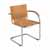 "Safco Flaunt Guest Chair, Camel Micro Fiber, 21-/2""W x 23""D x 31-3/4""H"