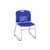 "Safco Vy™ Sled Base Chair, Blue, 22-1/2""W x 19-1/2""D x 32-1/2""H - Set of 2 Chairs"