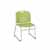 "Safco Vy™ Sled Base Chair, Green, 22-1/2""W x 19-1/2""D x 32-1/2""H - Set of 2 Chairs"