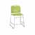 "Safco Vy™ Counter Height Sled Base Chair, Green, 18""W x 22""D x 40""H"