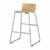 "Safco Bosk® Bistro Height Stool, Beech, 20-3/4""W x 20-1/2""D x 35""H"