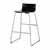 "Safco Bosk® Bistro Height Stool, Espresso, 20-3/4""W x 20-1/2""D x 35""H"