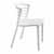 "Safco Entourage™ Stack Chair, White, 19-1/2""W x 21-1/2""D x 30""H - Set of 4 Chairs"