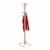 """Safco Bamboo Coat Rack, Natural, 20""""W x 20""""D x 69-1/2""""H"""