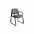 "Safco Cava® Urth™ Sled Base Guest Chair, Black, 22-1/2""W x 24""D x 32-1/2""H"