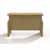 """Safco Aberdeen® Height-Adjustable Bow Front Desk with Base, Maple TF Laminate, 66""""W x 42""""D x 29-1/2"""" to 47-3/4""""H"""