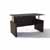 Safco Medina™ Height-Adjustable Straight Front Desk, Mocha Laminate