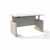 Safco Medina™ Height-Adjustable Straight Front Desk, Textured Sea Salt Laminate