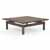 "Safco Sterling Coffee Table, Textured Brown Sugar Laminate, 48""W x 48""D x 16""H"
