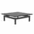 "Safco Sterling Coffee Table, Textured Driftwood Laminate, 48""W x 48""D x 16""H"
