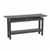 "Safco Sterling Sofa Table, Textured Driftwood Laminate, 58""W x 19""D x 30""H"