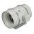 """S&P TD Series 14"""" Diameter Inline Mixed Flow Duct Fan, 2090 CFM, 115V/60Hz, 522-Watt, 3.9 Amps, 1536 RPM"""