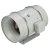 """S&P TD Series 16"""" Diameter Inline Mixed Flow Duct Fan, 3127 CFM, 115V/60Hz, 916-Watt, 6.3 Amps, 1559 RPM"""