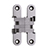 SOSS® #SOS-212SS Invisible Hinge, Bright Stainless Steel
