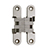 SOSS® #SOS-212SS Invisible Hinge, Satin Staniless Steel