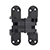 SOS-418US Invisible Hinge, Black E-Coat