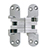 SOS-418US Invisible Hinge, Satin Chrome