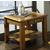 Steve Silver Nelson End Table, Dark Oak Finish