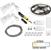 "Task Lighting illumaLED™ Vivid Series 16' Tape Light Duo Wireless Contractor Kit, 2-Zone, 2-Area, High Light Output, Warm White 2700K, 197"" Length x 5/16""W x 1/16"" H"