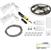"Task Lighting illumaLED™ Vivid Series 16' Tape Light Duo Wireless Contractor Kit, 2-Zone, 2-Area, High Light Output, Soft White 3000K, 197"" Length x 5/16""W x 1/16"" H"