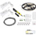 """Task Lighting illumaLED™ Vivid Series 16' Tape Light Duo Wireless Contractor Kit, 2-Zone, 2-Area, High Light Output, Cool White 4000K, 197"""" Length x 5/16""""W x 1/16"""" H"""