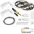 "Task Lighting illumaLED™ Vivid Series 32' Tape Light Duo Wireless Contractor Kit, 2-Zone, 2-Area, High Light Output, Warm White 2700K, 384"" Length x 5/16""W x 1/16"" H"
