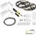 "Task Lighting illumaLED™ Vivid Series 32' Tape Light Duo Wireless Contractor Kit, 2-Zone, 2-Area, High Light Output, Soft White 3000K, 384"" Length x 5/16""W x 1/16"" H"